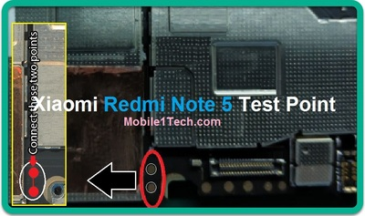 Redmi Note 5 Test Point