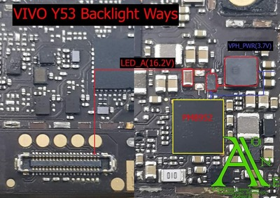Vivo Y53 LCD Backlight Ways